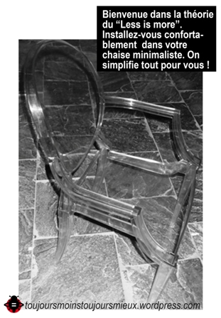 accueil chaise musée