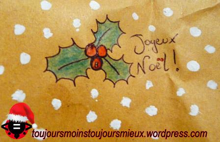 Dessin Houx De Noel Simple Toujours Moins Toujours Mieux