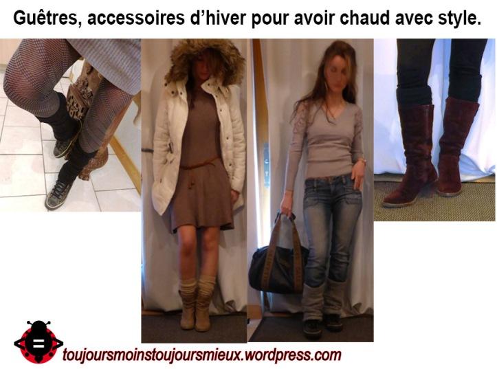 guêtres my style