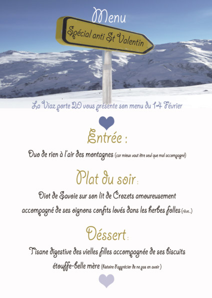 menu anti st valentin