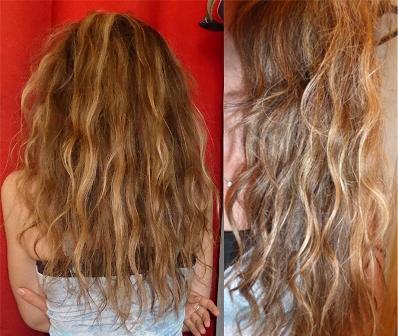 cheveux après soins pour cheveux bouclés Le Petit Olivier.jpg