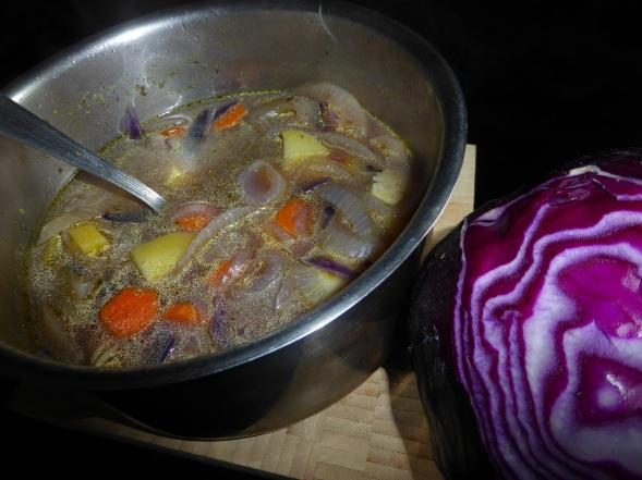 UNE-soupe simple et bonne