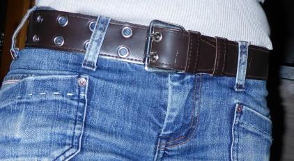 ceinture simili cuir de 30 ans