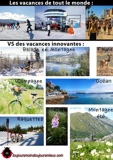 vacances imposées - vacances innovantes