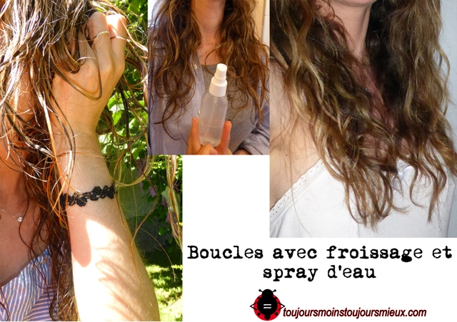 boucles froissage