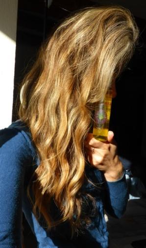 shampoing 2en1 lavera et huile Pachamama