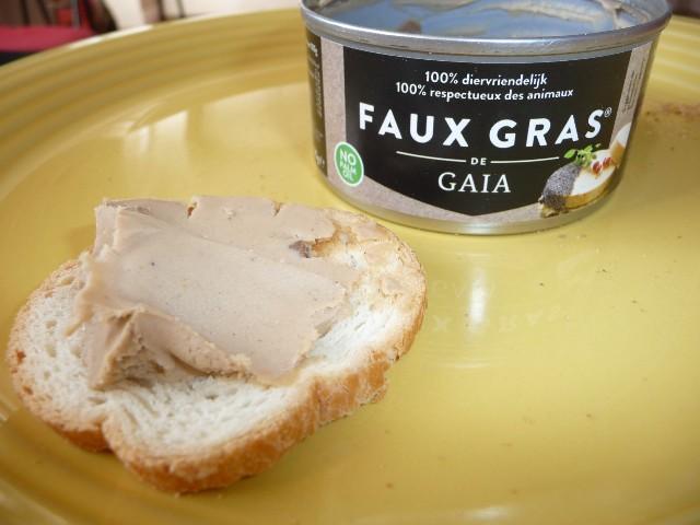 faux gras foie gras vegan