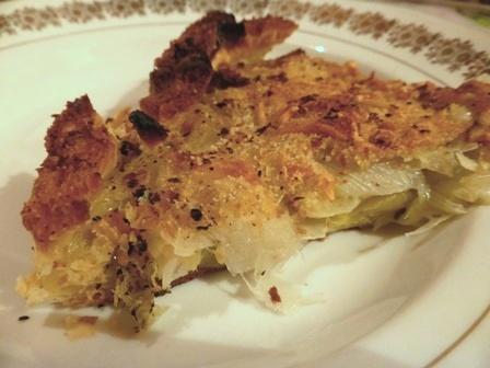 tarte aux poireaux croute pain sec.JPG