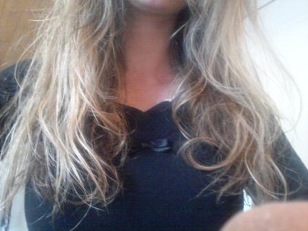 Masque compote cheveux secs résultat